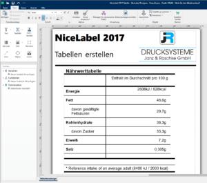etikettensoftware-nicelabel-2017-designerpro-tabelle-erstellen