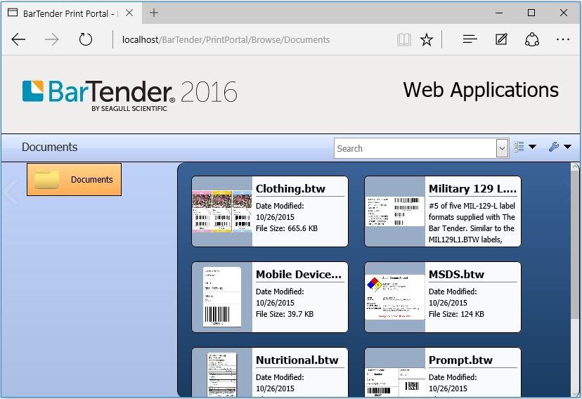 BarTender-webprint-etikettendruck
