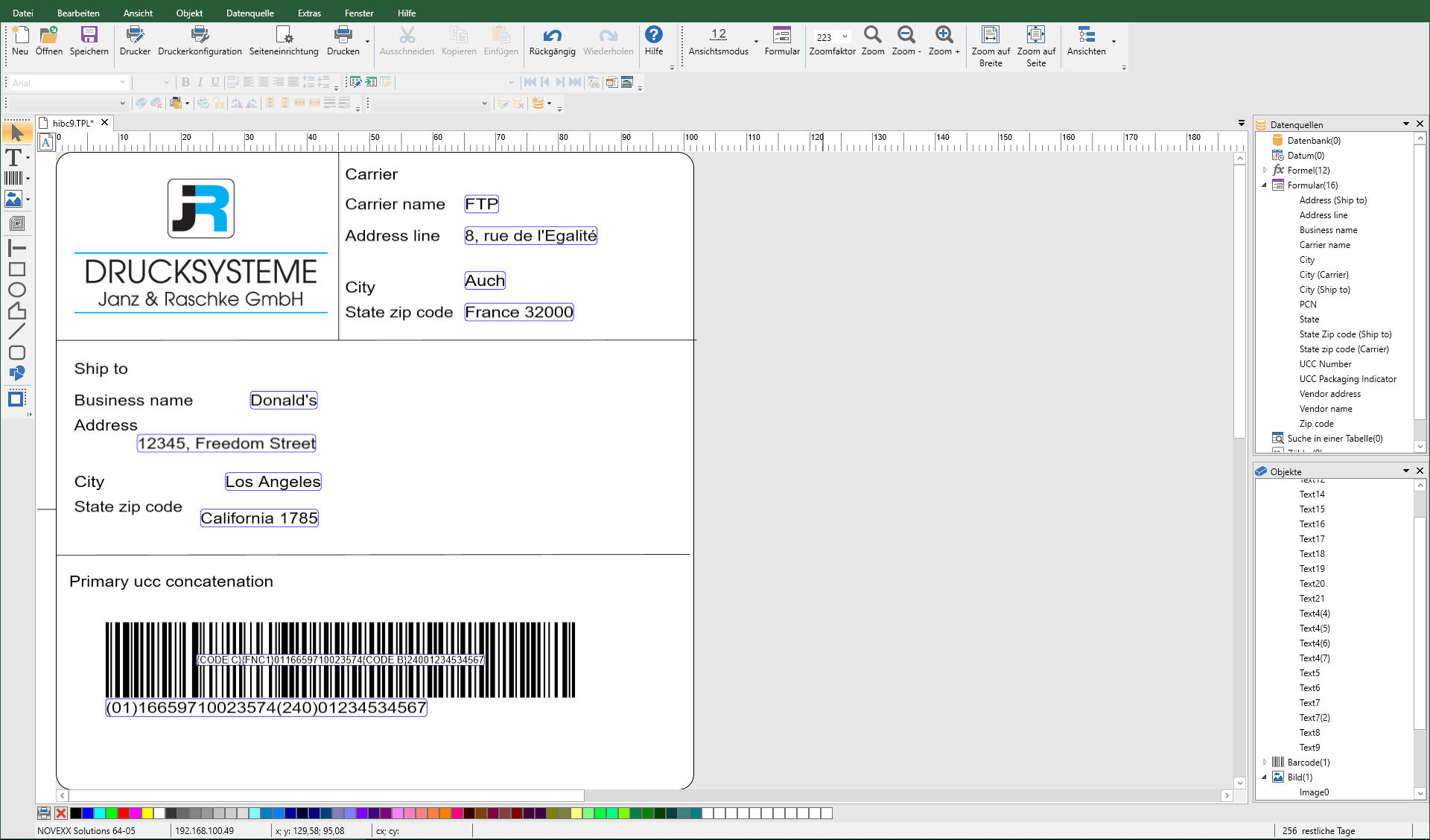 teklynx-codesoft-etikettensoftware