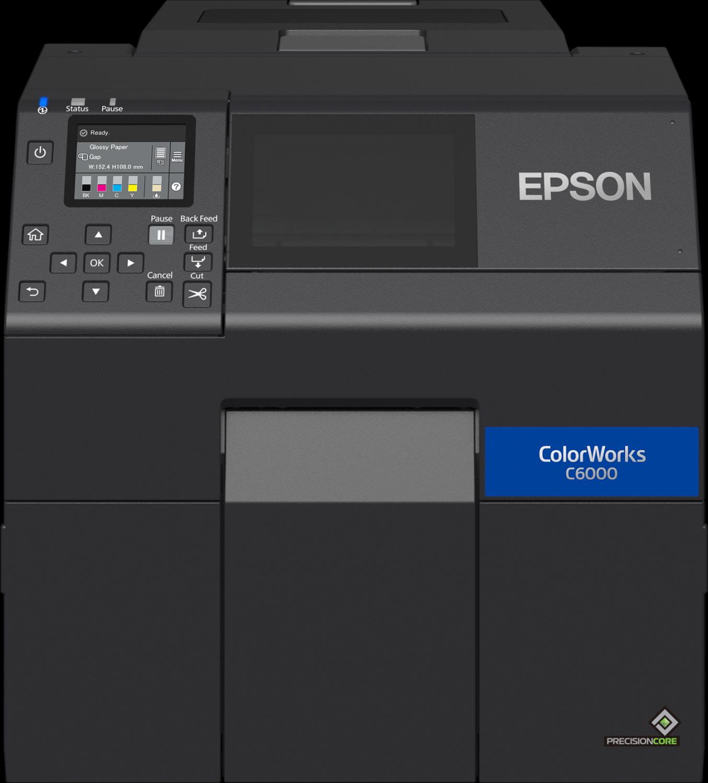 EPSON stellt die neue Farbdrucker Serie C6000/C6500 vor